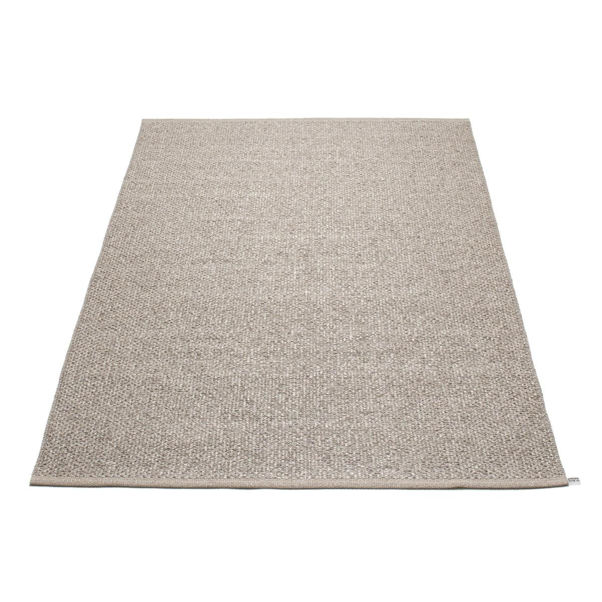 pappelina svea teppich 140 x 220 cm mud metallic mud braun t 140 h 0 b 220 online kaufen. Black Bedroom Furniture Sets. Home Design Ideas