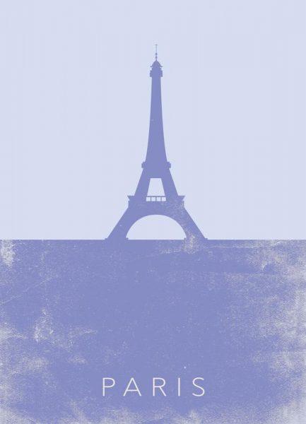 Paris Leinwandbild