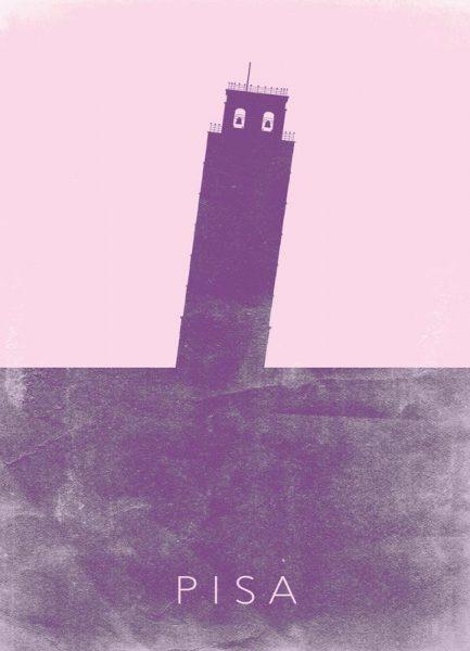 Pisa Leinwandbild
