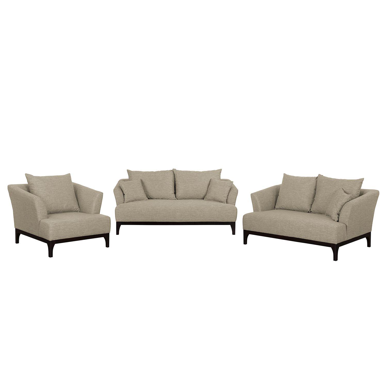 polstergarnitur new dalton 3 2 1 webstoff kaschmir morteens online kaufen bei woonio. Black Bedroom Furniture Sets. Home Design Ideas