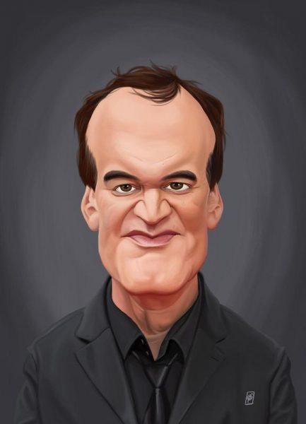 Quentin Tarantino Leinwandbild
