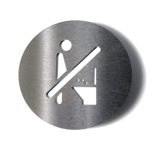 Radius Design - Piktogramm no pee