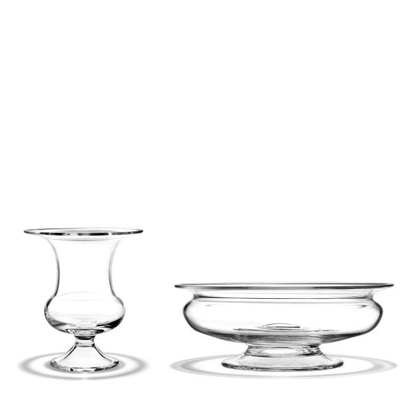 Rosendahl Holmegaard - Old English Vase + Blumenschale