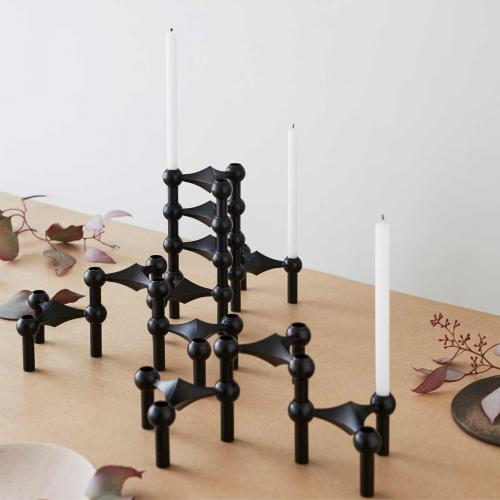STOFF Kerzenhalter Black Editionschwarz