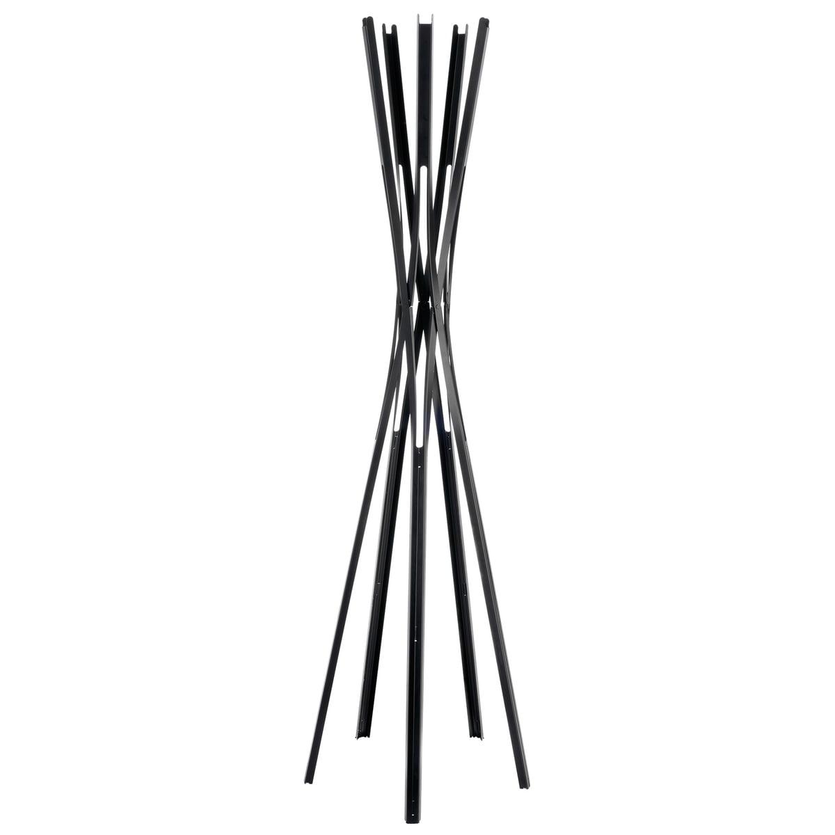sch nbuch upon garderobenst nder schwarz schwarz h 179. Black Bedroom Furniture Sets. Home Design Ideas