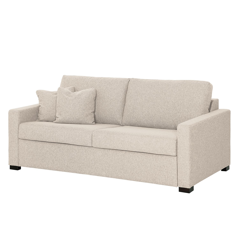 schlafsofa henning i webstoff stoff kiara beige grau i fredriks online kaufen bei woonio. Black Bedroom Furniture Sets. Home Design Ideas