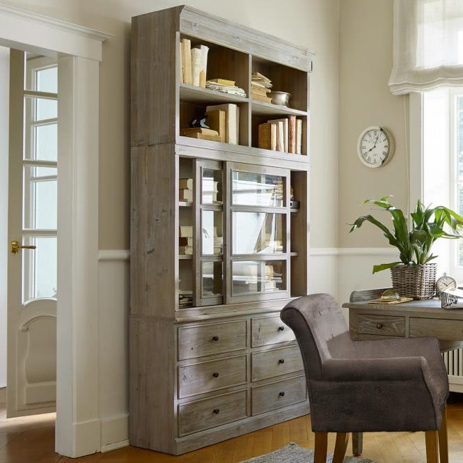 schrank clion antikbraun online kaufen bei woonio. Black Bedroom Furniture Sets. Home Design Ideas