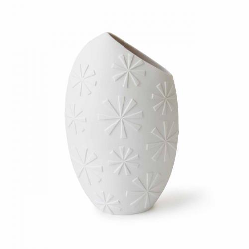 Slice Vase weiss von Jonathan Adlerweiss