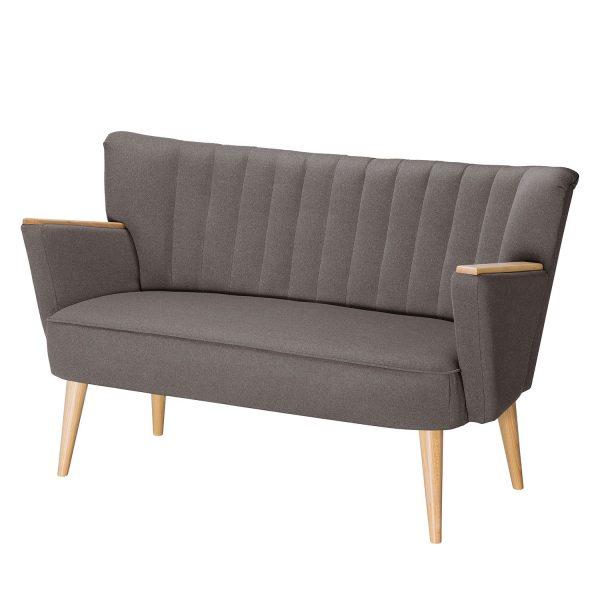 Sofa Bauro (2-Sitzer) Webstoff - Cubanit