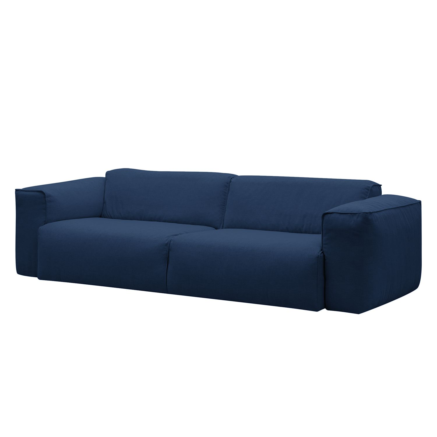 sofa hudson ii 3 sitzer webstoff stoff anda ii blau studio copenhagen online kaufen bei woonio. Black Bedroom Furniture Sets. Home Design Ideas