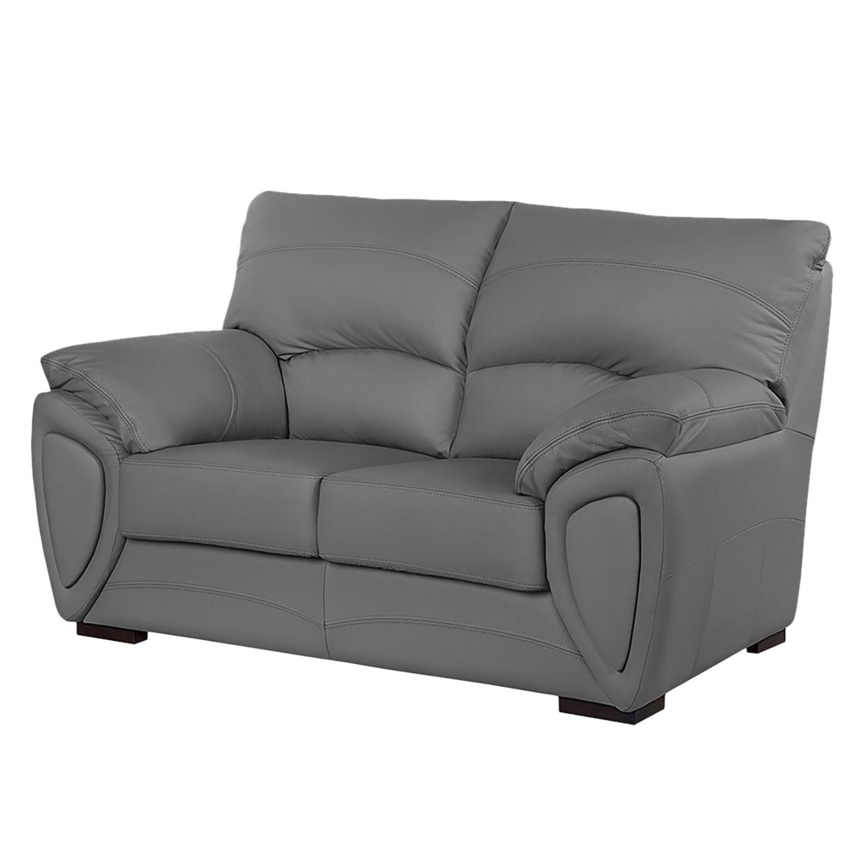 sofa luzzi 2 sitzer kunstleder grau fredriks online kaufen bei woonio. Black Bedroom Furniture Sets. Home Design Ideas