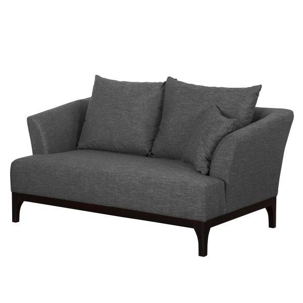 Sofa New Dalton (2-Sitzer) Webstoff - Anthrazit