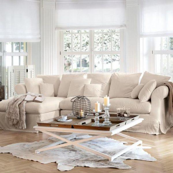 Sofa New Haven beige Sofateil: H/B/T ca. 98/209/100 cm