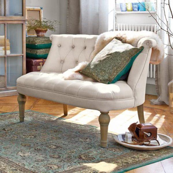 Sofa Plivot leinen H/B/T ca. 74/113/75 cm