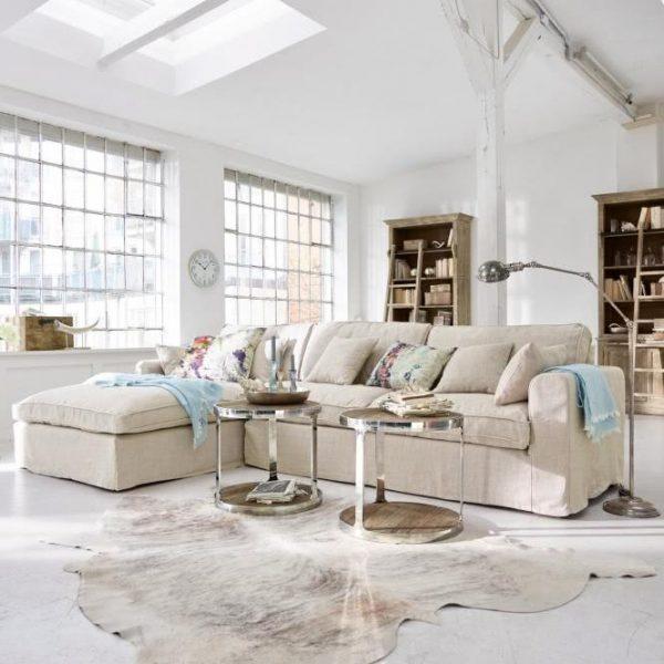 Sofa Seaford beige Gesamtmaße: H/B/T ca. 80/325/190 c