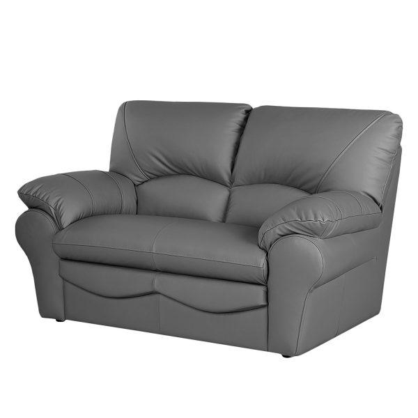 Sofa Torsby (2-Sitzer) - Kunstleder - Grau