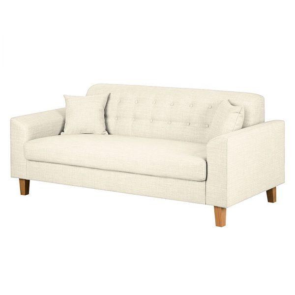 Sofa Viona I (2-Sitzer) Webstoff - Beige