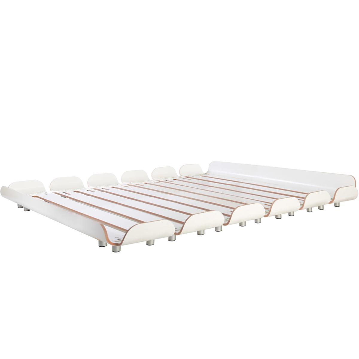 stadtnomaden tiefschlaf bett 160 cm wei wei t 160 h. Black Bedroom Furniture Sets. Home Design Ideas
