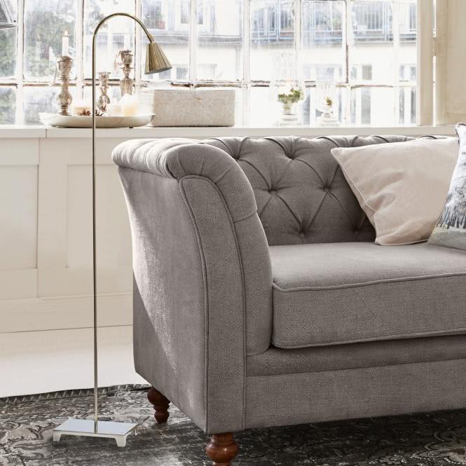 stehlampe hailee silber online kaufen bei woonio. Black Bedroom Furniture Sets. Home Design Ideas