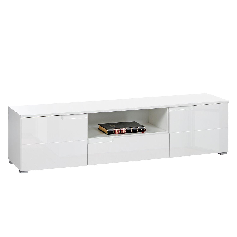 tv lowboard larado hochglanz wei wei fredriks. Black Bedroom Furniture Sets. Home Design Ideas