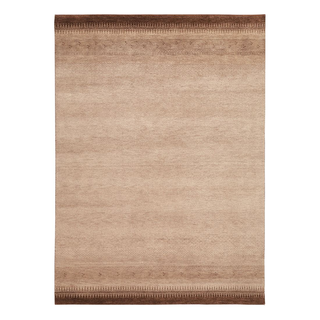 teppich indo gabbeh vizianagaram braun 60 x 90 cm parwis online kaufen bei woonio. Black Bedroom Furniture Sets. Home Design Ideas
