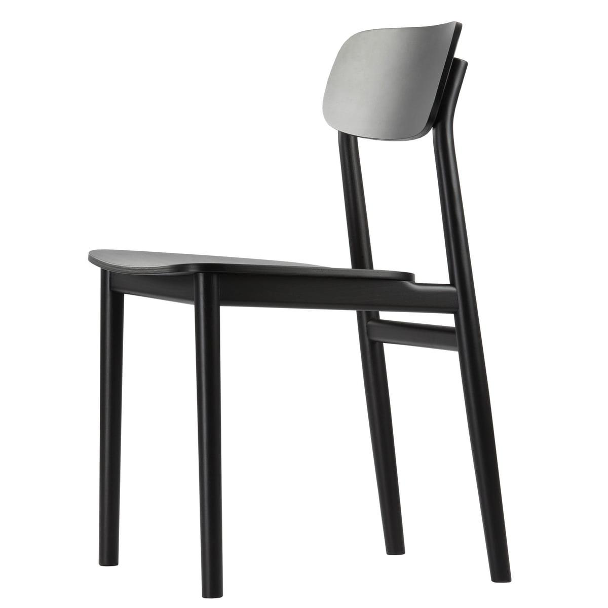 Thonet 130 stuhl buche schwarz gebeizt tp 29 schwarz for Thonet stuhl schwarz