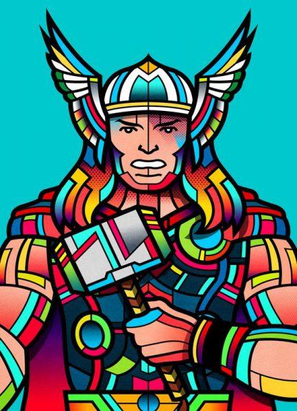 Thor Leinwandbild