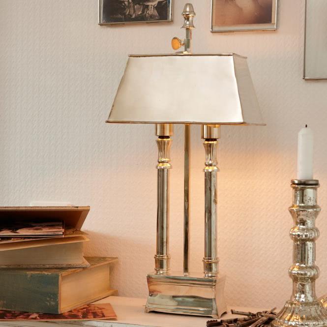 Tischlampe Pantin silber online kaufen bei WOONIO