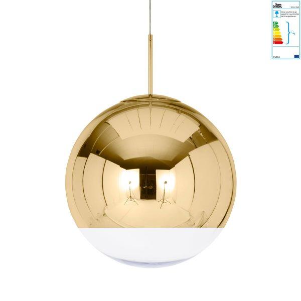 Tom Dixon - Mirror Ball Gold Pendelleuchte Ø 50 cmGoldT:50 H:50 B:50
