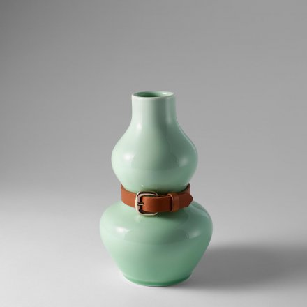 Vase Alba celadon grün