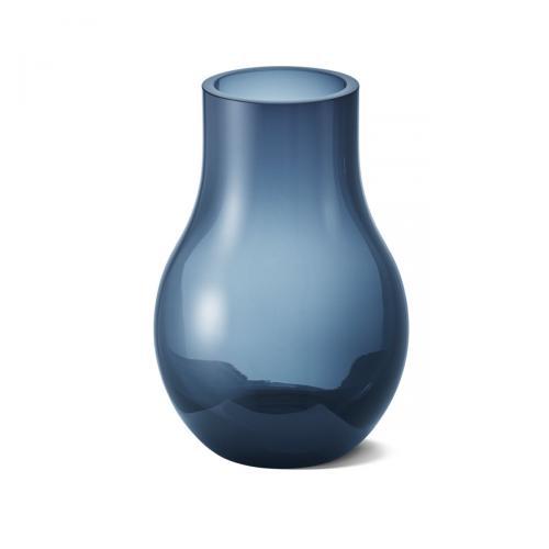 Vase Cafu dunkelblau klein von Georg Jensendunkelblau
