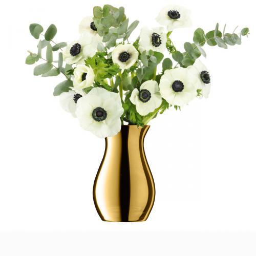 Vase Flower Metallic Posy