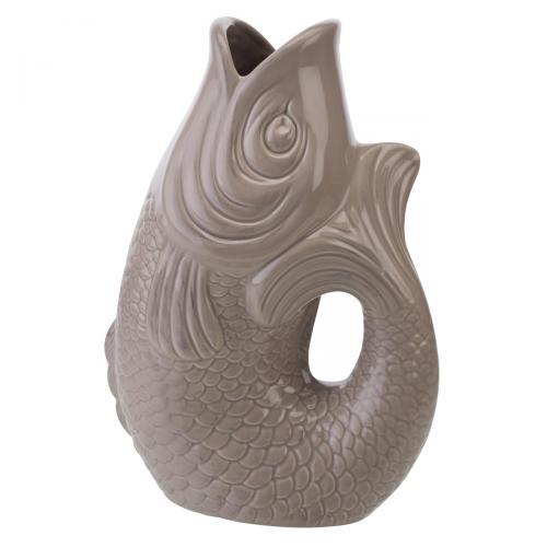 Vase/Krug Monsieur Carafon sandstone