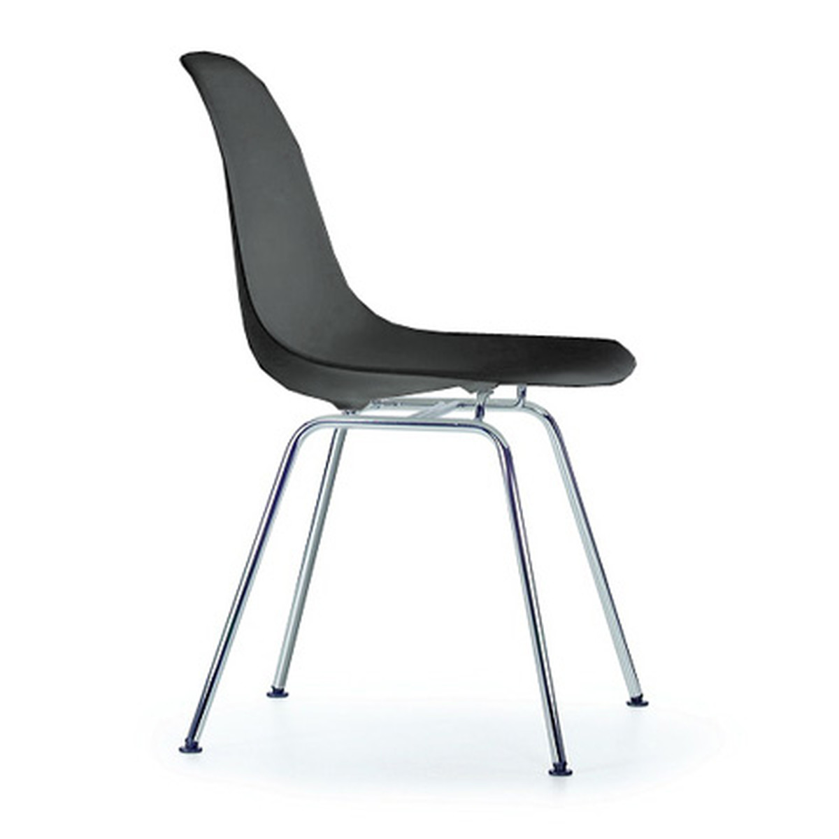 vitra eames plastic side chair dsx h 43 cm verchromt. Black Bedroom Furniture Sets. Home Design Ideas