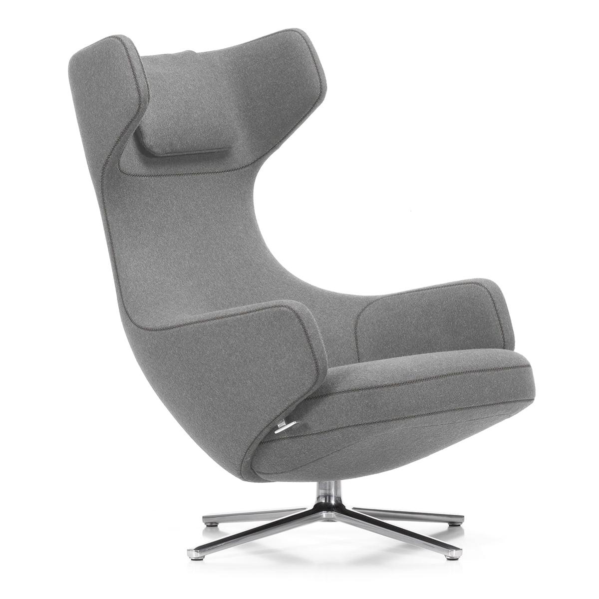 vitra grand repos sessel hellgrau 01 kiesel. Black Bedroom Furniture Sets. Home Design Ideas