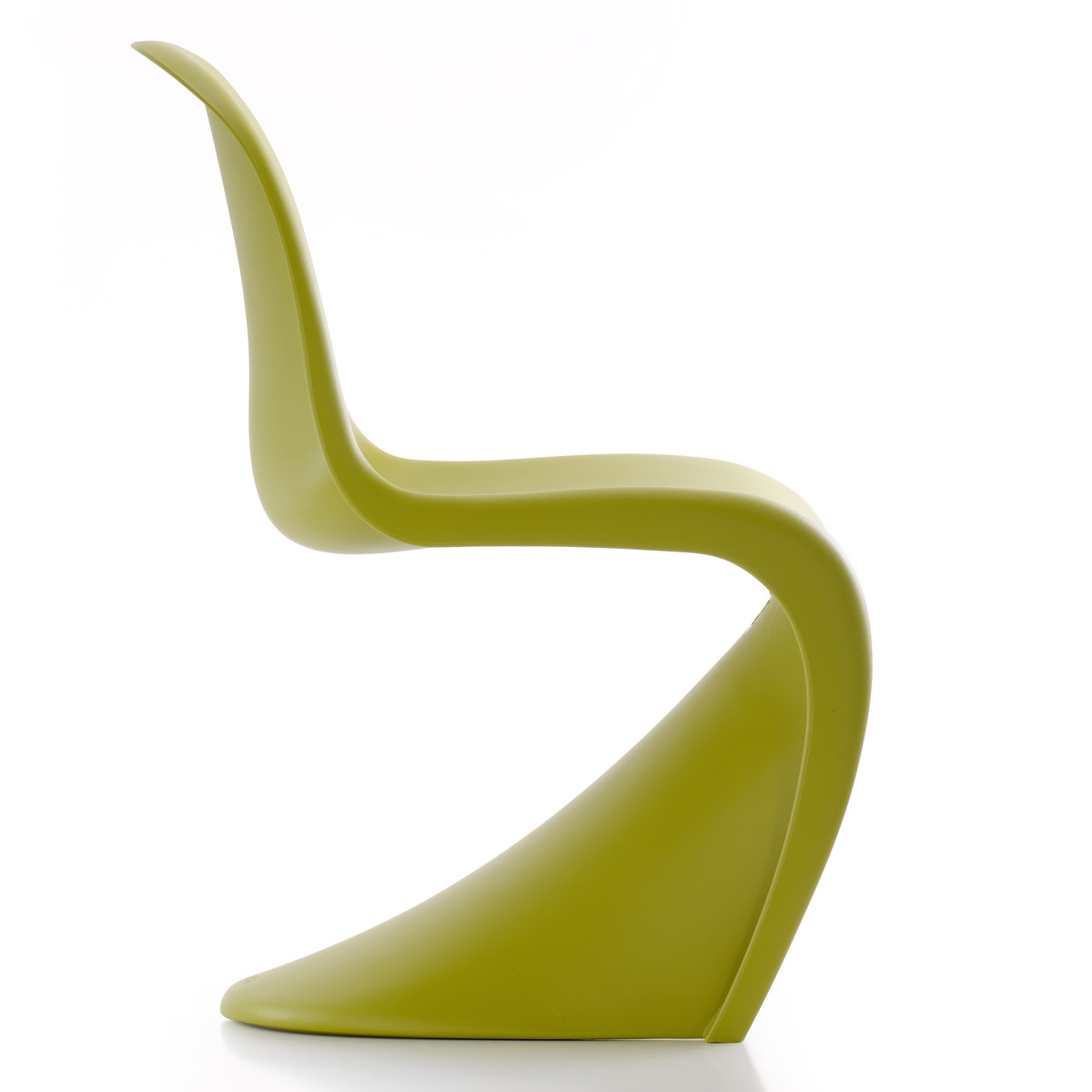 vitra panton chair chartreuse gr n t 61 h 83 b 50. Black Bedroom Furniture Sets. Home Design Ideas