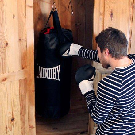 Wäschesack Punch Bag schwarz Polyester