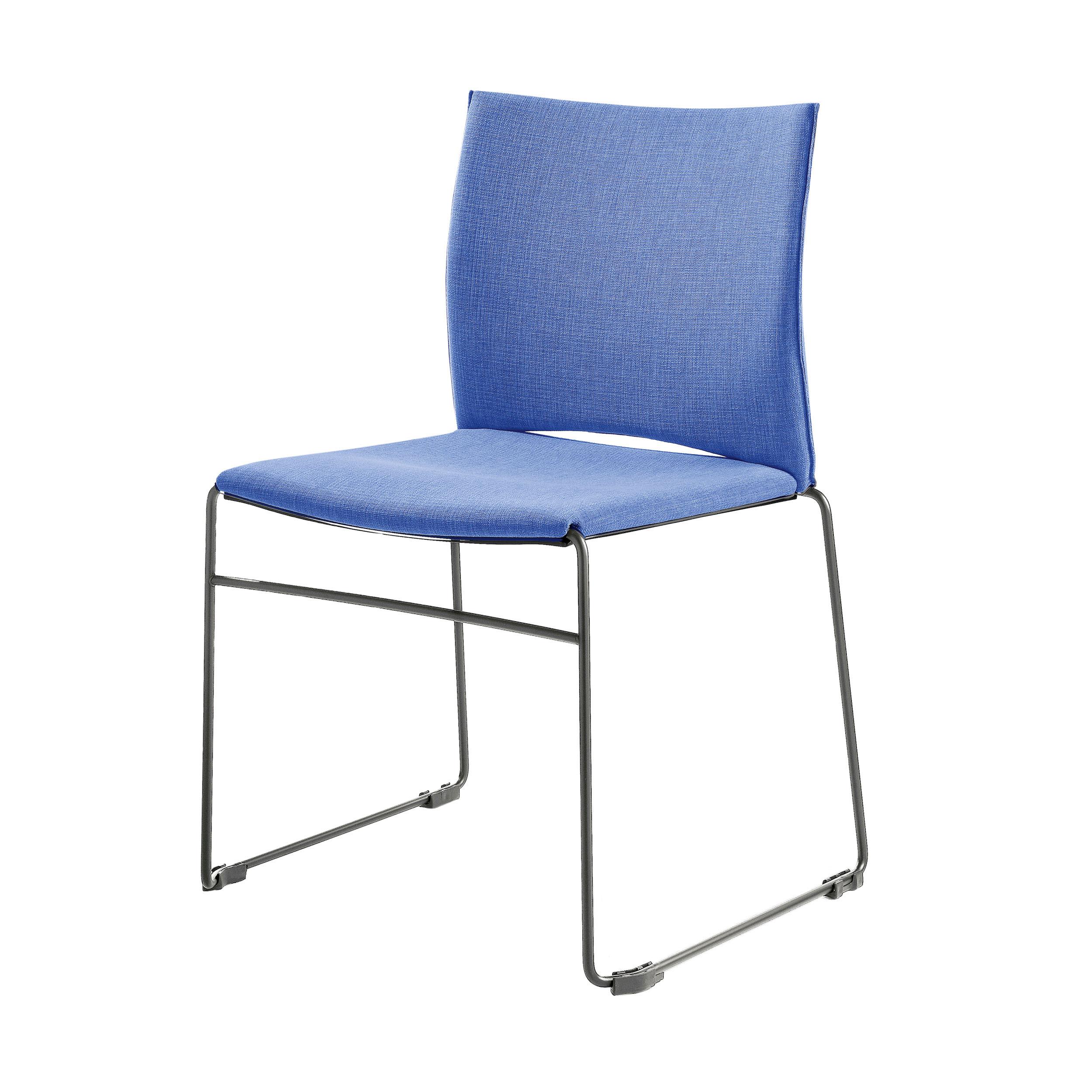 web stuhl blau chrom online kaufen bei woonio. Black Bedroom Furniture Sets. Home Design Ideas