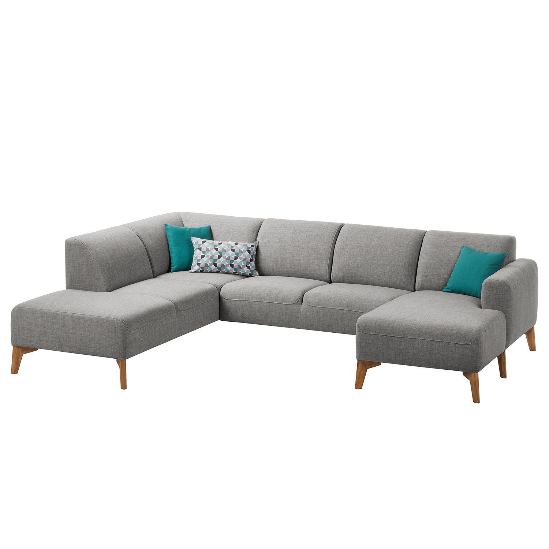 wohnlandschaft bora ii webstoff longchair davorstehend rechts ottomane links stoff milan. Black Bedroom Furniture Sets. Home Design Ideas
