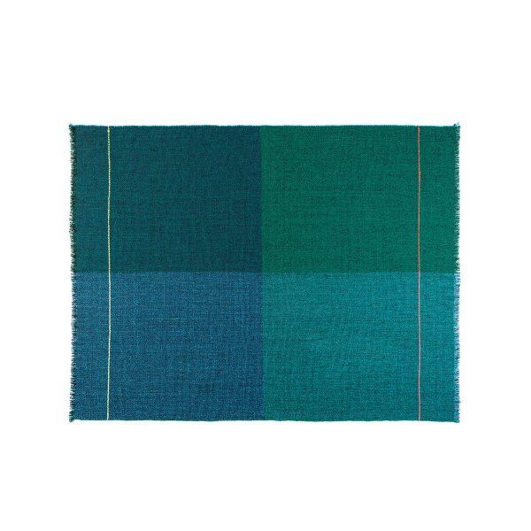 Zuzunaga - Quaternio Blue Wolldecke