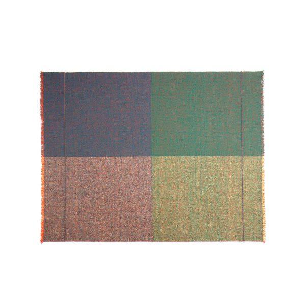 Zuzunaga - Quaternio Green Wolldecke