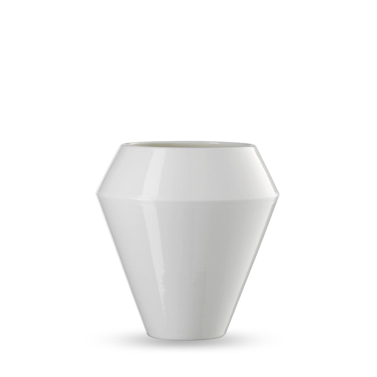 By Lassen Rimm Vase Groß Weiß Weiß H 19 Online Kaufen Bei Woonio