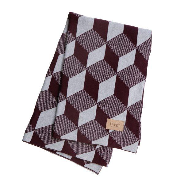 ferm Living - Knitted Blanket Decke