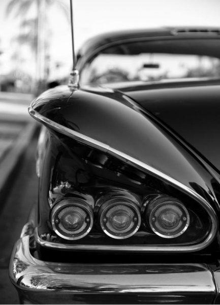 58 Chevrolet Impala Leinwandbild