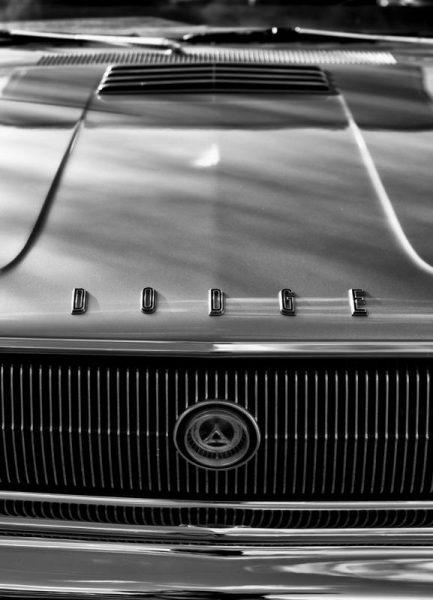 67 Dodge Charger Leinwandbild