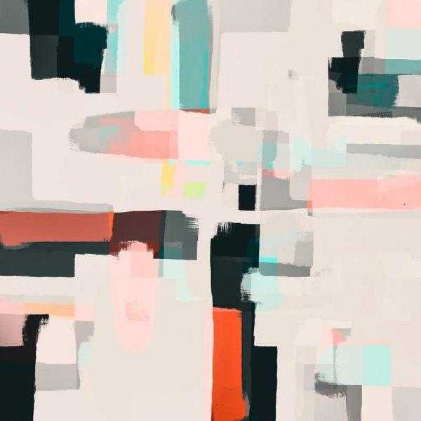 Abstract Painting No.7 Leinwandbild