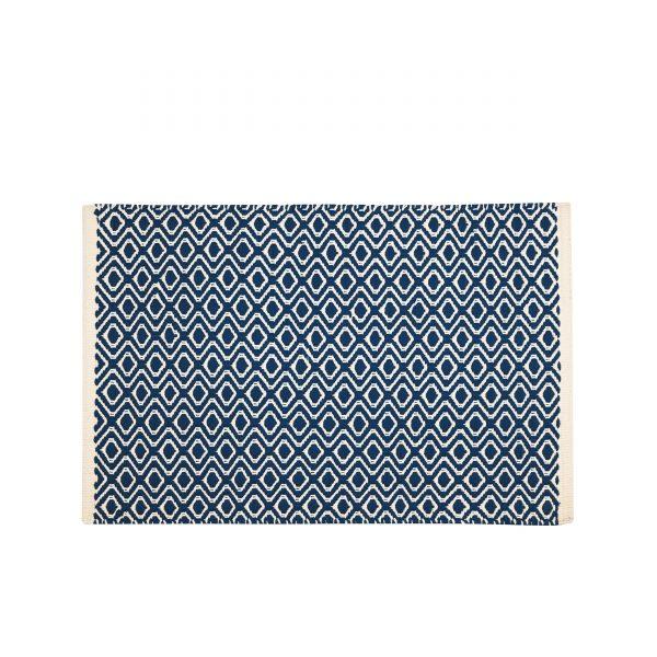 Akzent Fußmatte Outdoorteppich 132marine-ivory