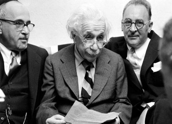 Albert Einstein Leinwandbild