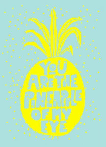 Ananas No.2 Leinwandbild