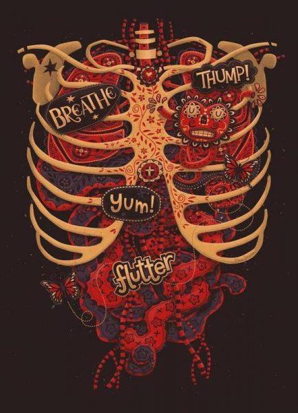 Anatomical Study Leinwandbild